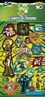 Ben 10 Party Pack Stickers - 6 sheets